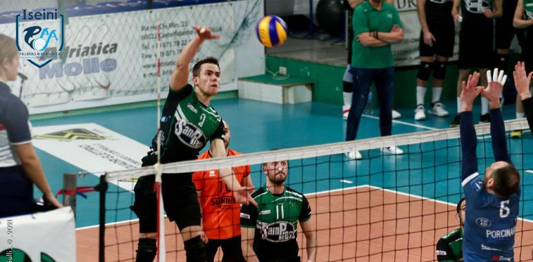 Sampress nova volley Iseini volley